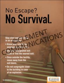 No Escape. No Survival Poster
