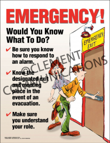 Emergency - Would You Know Poster