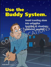 Use the Buddy System Poster