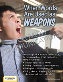 When Words are Used as Weapons Poster