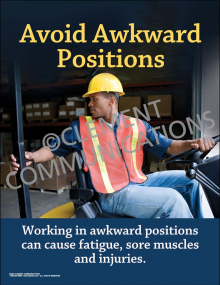 Avoid Awkward Positions Poster