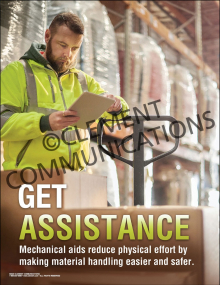 Get Assistance Poster