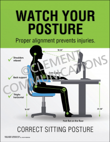 Watch Your Posture Poster