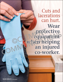 Wear Protective Equipment Poster