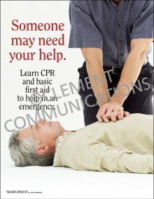 Someone May Need Your Help Poster