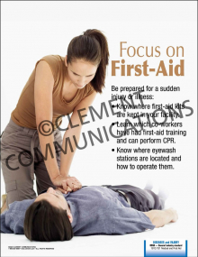 Focus on First Aid Poster