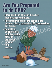 Are You Prepared to Do CPR Poster