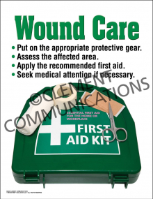 Wound Care Poster