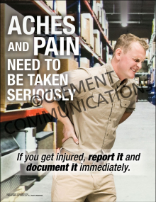 Aches and Pains Poster