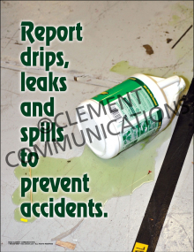 Report Drips Poster