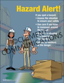 Hazard Alert Poster