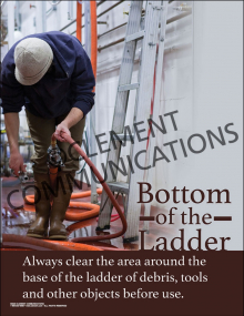 Bottom of the Ladder Poster
