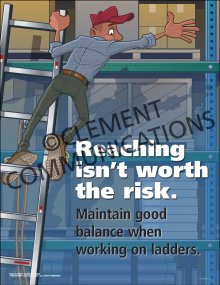 Reaching Isn't Worth It Poster