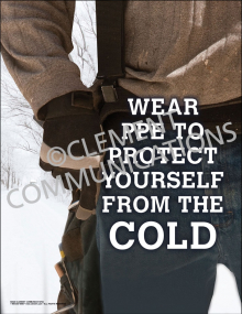 Protect Against the Cold Poster