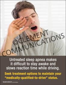Untreated Sleep Apnea Poster