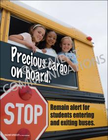 Precious Cargo on Board Poster