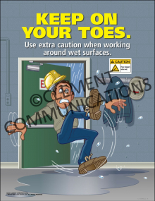 Keep on Your Toes Poster