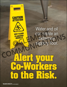 Alert Your Co-Workers Poster