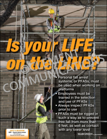 Is Your Life on the Line Poster