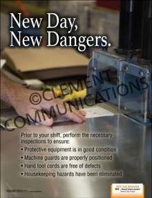 New Day, New Dangers Poster
