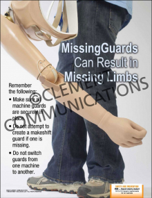 Missing Guards Missing Limbs Poster