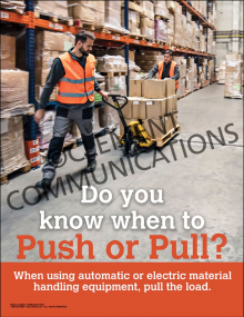 When to Push or Pull Poster