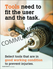 Tools Need to Fit the User Poster
