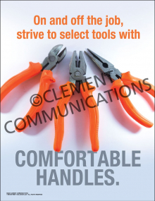 Comfortable Tools Poster