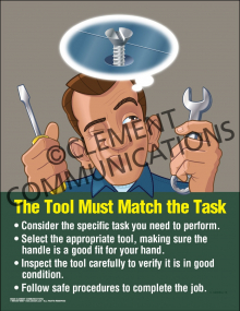 Tool Must Match the Task Poster
