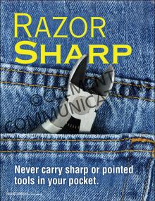 Razor Sharp Poster