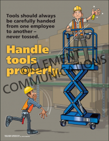 Handle Tools Properly Poster