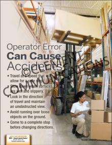 Operator Error Poster