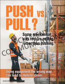 Push vs Pull Poster