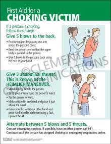 First Aid for a Choking Victim