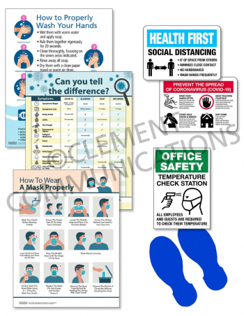 COVID Office Response Signage Kit