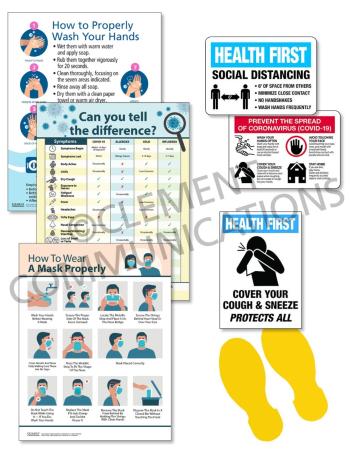 COVID School Response Signage Kit