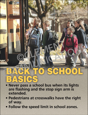 Back to School Basics Poster