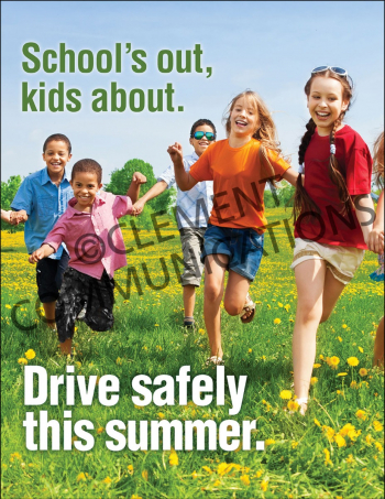 Driving Safely – School – Posters