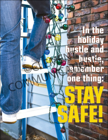 Seasonal Safety - Hustle - Posters