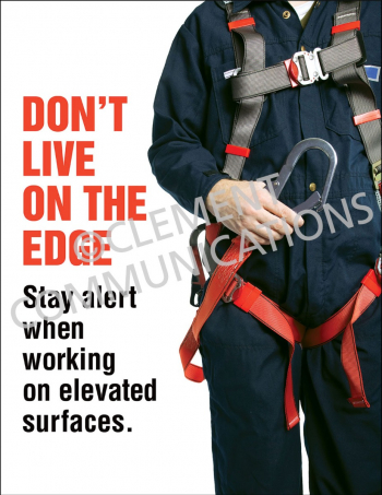 Fall Protection - Harness Posters