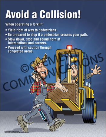 Avoid a Collision Poster