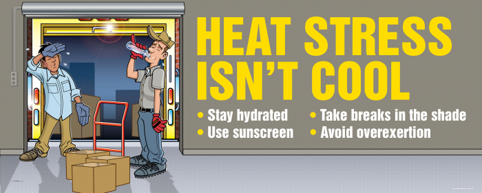 Heat Stress Banner