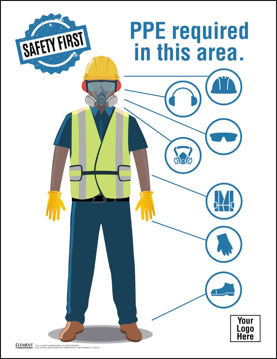 PPE Required, PPE, Personal Protective Equipment, Safety Gear