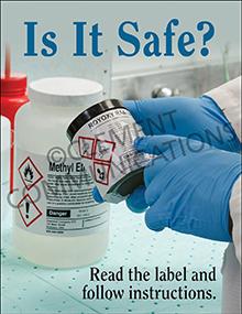 Safe Behavior Posters