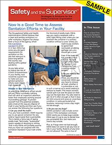 Safety and the Supervisor Newsletter