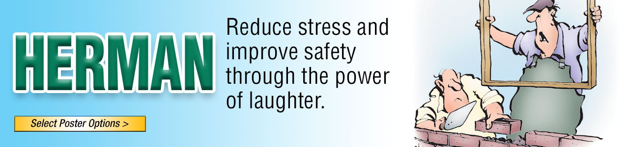 Herman poster, Safety, Laughter